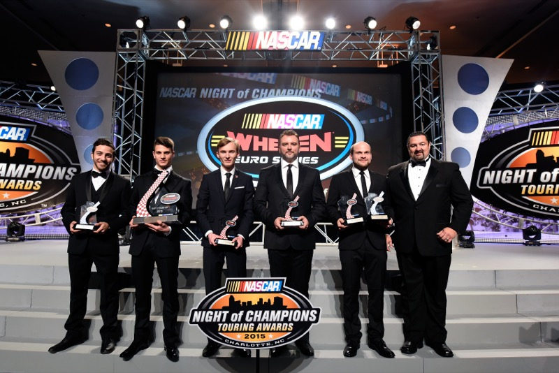 CHARLOTTE, NC - DECEMBER 12:  during the NASCAR Night of Champions Touring Awards at the Charlotte Convention Center on December 12, 2015 in Charlotte, North Carolina.  (Photo by Jared C. Tilton/NASCAR via Getty Images)