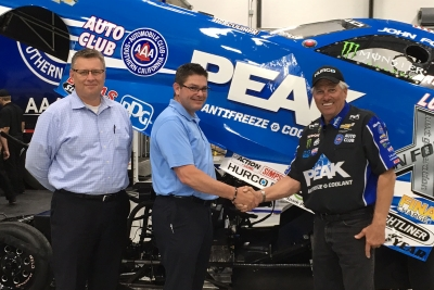 John Force Racing and Hurco Announce Multi-Year Deal - Motor