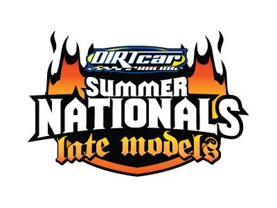 Dirtcar summer nats logo