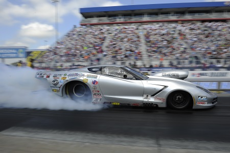 Rahaim races to victory in pro mod portion of the nhra for Victory motors big bob