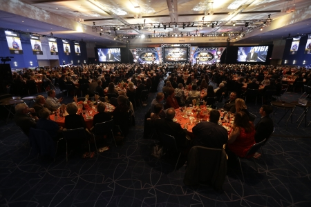 CHARLOTTE, NC - DECEMBER 12:  during the NASCAR Night of Champions Touring Awards at the Charlotte Convention Center on December 11, 2015 in Charlotte, North Carolina. (Photo by Bob Leverone via Getty Images)  (Photo by Bob Leverone/NASCAR via Getty Images)