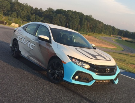 The Honda Civic Hatchback Sport PWC Pace Car Will A 50 Field In Two 40 Minute Sprint Races Featuring PWCs Touring TCA And TCB Divisions