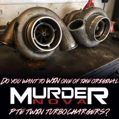 Precision Turbo & Engine is Giving Away Murder Nova's Twin PTE