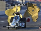 antron brown top fueler