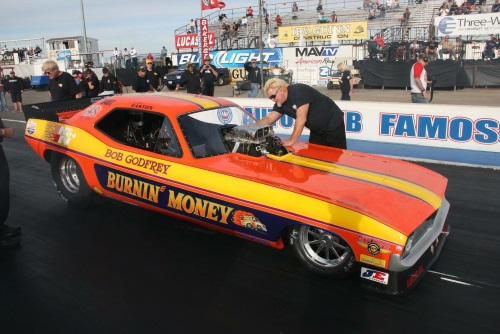 Easton to Drive Burin' Money Nitro Funny Car at 60th Annual March Meet