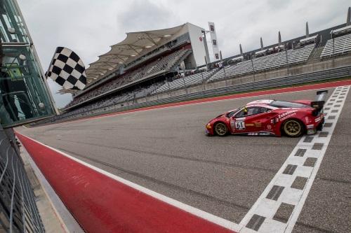 RFerri Motorsport Ferrari COTA Win Round 2