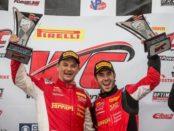 Toni Vilander & Miguel Molina winners circle