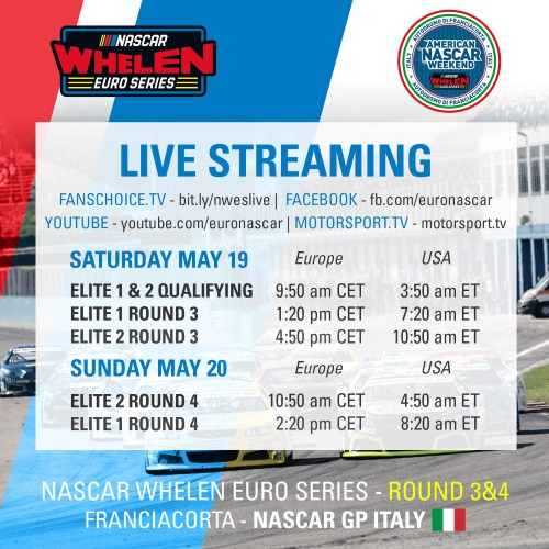 How to Watch the NASCAR Grand Prix ITALY Live!