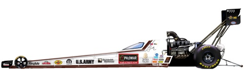 Palomar Builders Top Fuel Dragster
