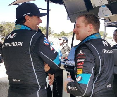 Bryan Herta and George Kurtz