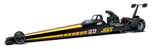 Mike Coughlin's JEGS.com Top Dragster