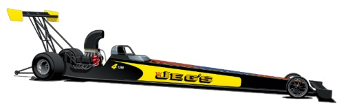 Troy Coughlin Jr.'s JEGS.com Top Alcohol Dragster