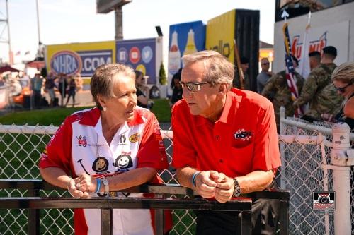 Terry Chandler and Don Schumacher
