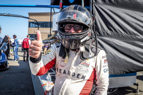 John Allen after win at Sonoma