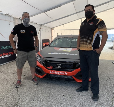 OpMo Crew with Boehm Racing