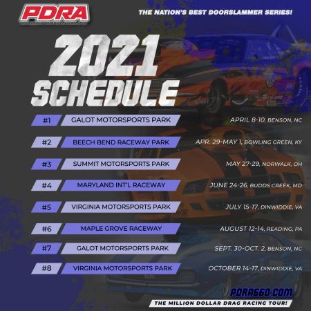 pdra schedule