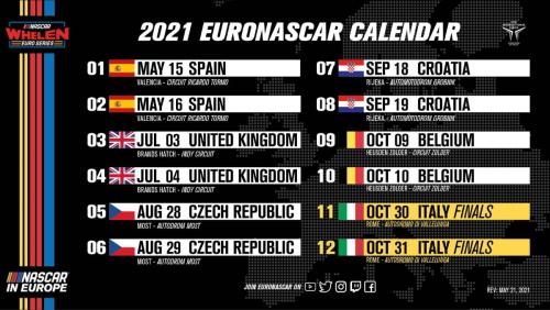 nwes calendar 21